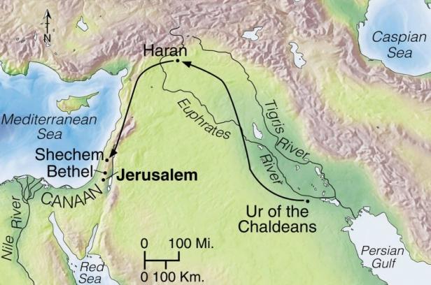 abram's journey